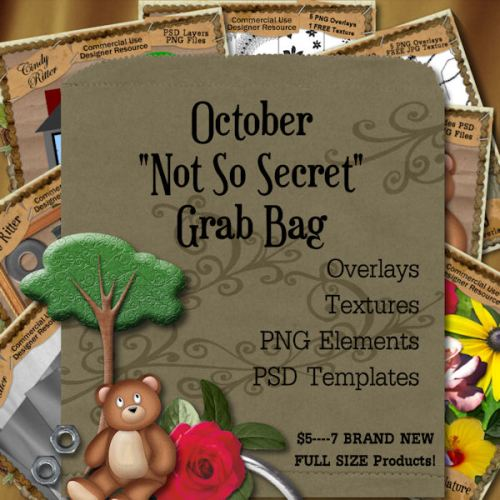"October ""Not So Secret"" Grab Bag"