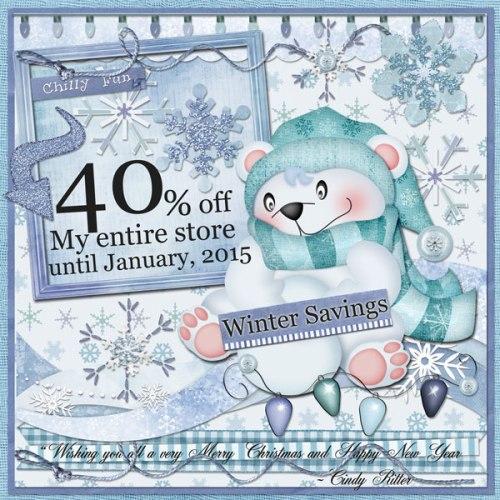Winter40%OFF